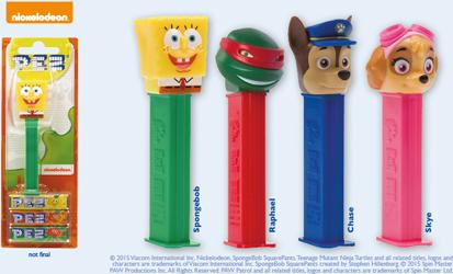 European Best of Nickelodeon Pez Assortment