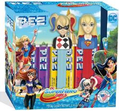 DC Super Hero Girls Pez Twin Pack