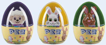 Mini Pez Easter Eggs
