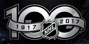 NHL 100th Anniversary Logo