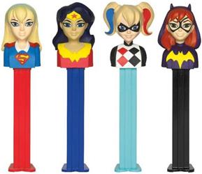DC Super Hero Girls Pez Assortment