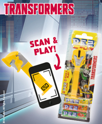 Transformers Pez Play Scan Code