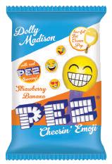 Dolly Madison Strawberry Banana Pez Cheesin Emoji Ice Cream