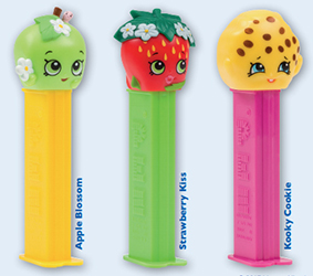 European Shopkins Pez