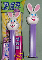 Mr. Bunny Pez on purple stem