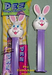 Mr. Bunny Pez on purple stem
