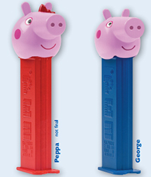 European Peppa and George Pig Pez