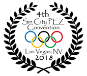 2018 Sin City Pez Convention Logo