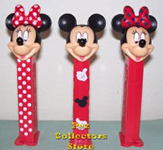 European Stylish Mickey and Minnie Pez