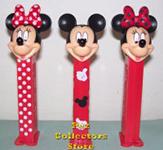 European Stylish Mickey and Minnie Pez