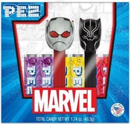 Ant Man and Black Panther Pez Twin Pack