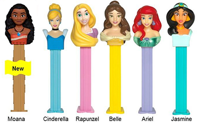 Disney Princess Pez with Moana
