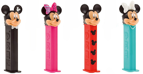 2020 European only Mickey and Minnie Pez