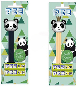 Limited Edition European Panda Pez pair