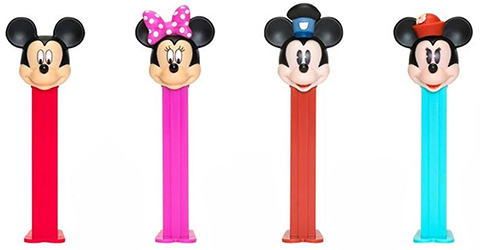 2020 USA Mickey and Mini Pez
