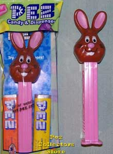2009 Chocolate Easter Bunny Pez