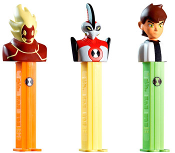 Ben 10 Pez set from Europe