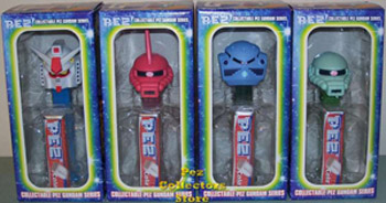 Japanese Gundam Pez Set