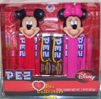 Mickey and Minnie Disney Couples Pez Valentines