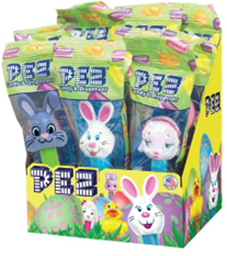 Easter Pez in bags