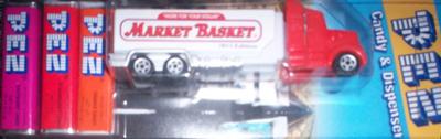 Market Basket Promo Pez Truck
