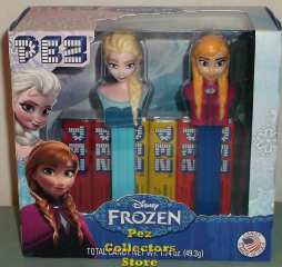 Frozen Pez Anna, Elsa and Olaf Mint in Bag