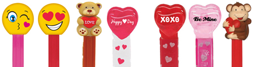 2016 Valentine's Day Pez Assortment