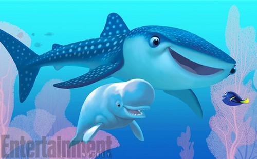 Bailey and Destiny from Finding Dory