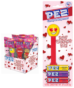 New Valentine's Day Pez Graphics
