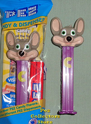 2017 Chuck E. Cheese B Pez