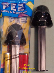 Darth Vader B Pez Mint in Bag
