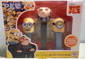 Despicable Me 3 Tri-pack Pez Set