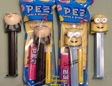 Gru and Jerry Pez Mint In Bag