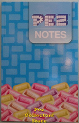 Pez Notes Journal Book