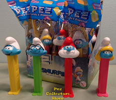 Smurfs Series 3 Pez Set