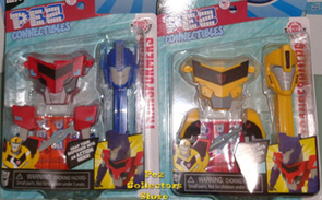 Transformer Connectible Pez Set