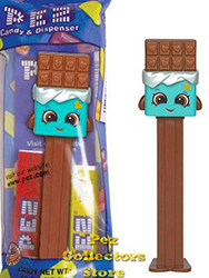 Shopkins Cheeky Chocolate Pez MIB
