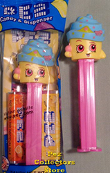 Shopkins Cupcake Queen Pez MIB