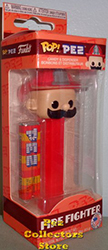 Funko Exclusive Pez Pal Fireman POP!+PEZ