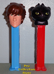 European Hiccup and Toothless Pez Loose