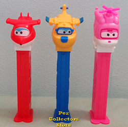 European Super Wings Pez Set Loose