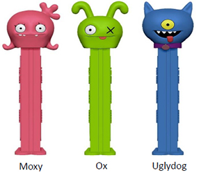 Ugly Dolls Pez
