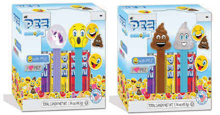 2020 Emoji Pez Twin Packs