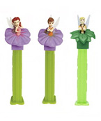 2009 Disney Fairies Pez with Terrence, Rosetta and Fawn