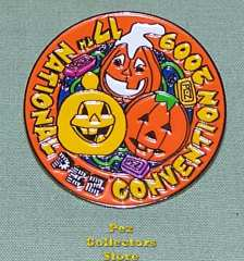 2009 ANPC Orange Pumpkin Patch Pin