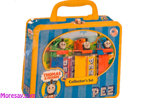 Thomas the Train Lunchbox Pez Gift Set