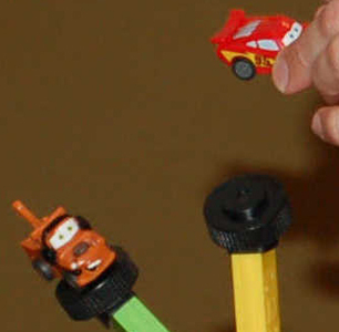 Pull-n-go Disney Cars detachable