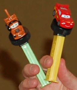 Detachable Pull-n-go Disney Cars