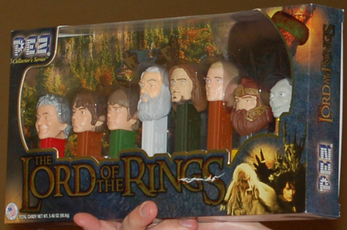 The Lord of the Rings Pez Gift Set