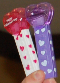Pez Valentine Hearts for 2012